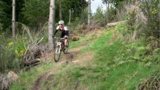 Mountain biking video West Coast